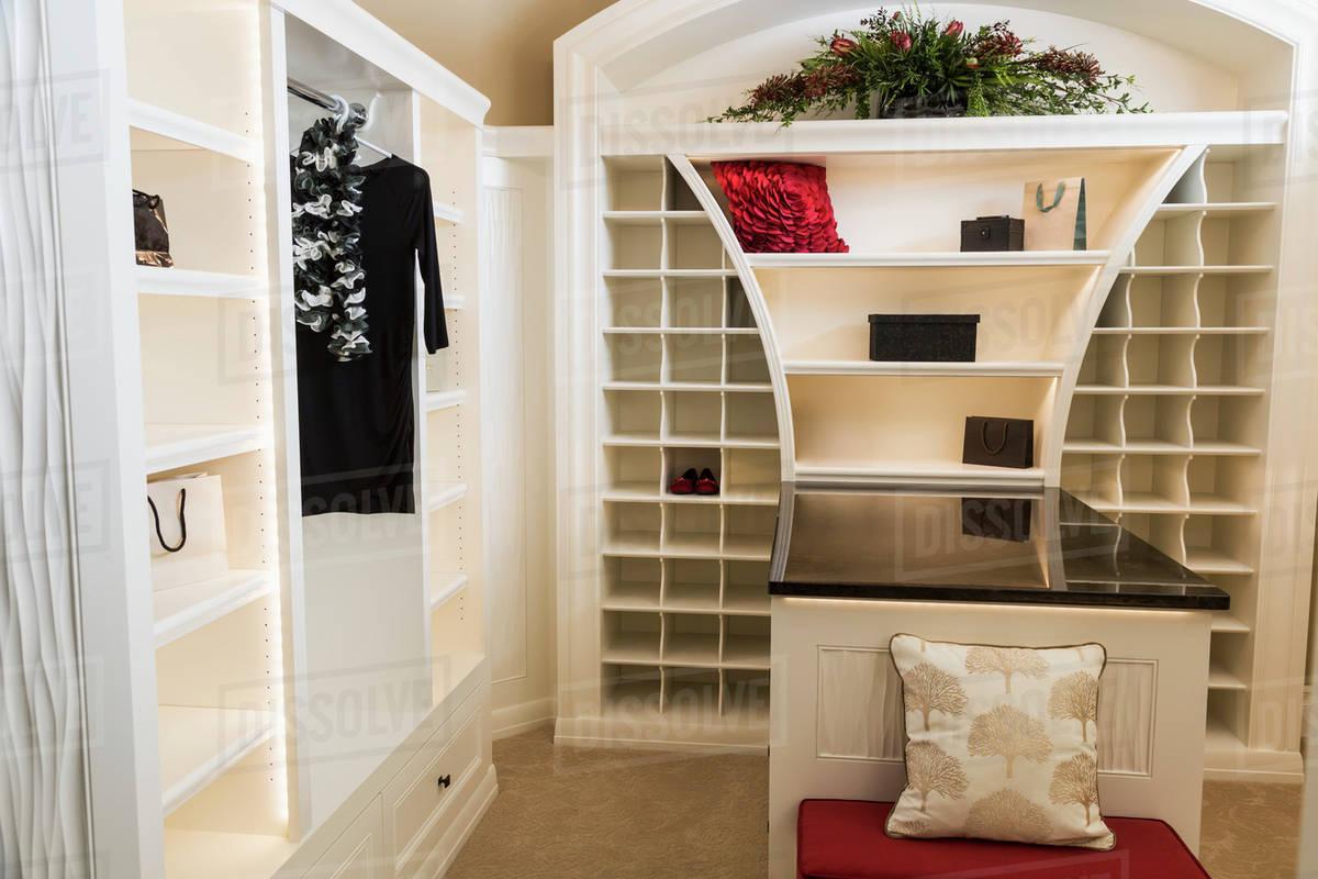 Walk In Closet Luxurious Custom Built Estate Home Edmonton Alberta Canada