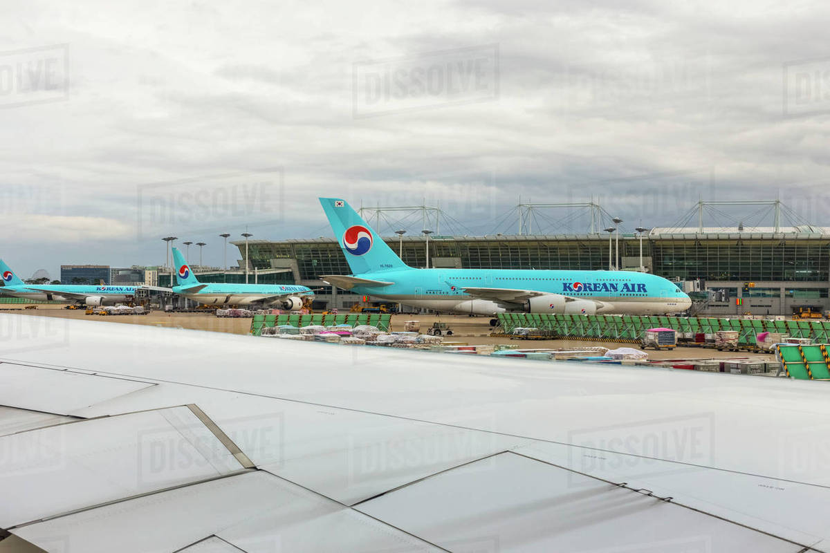 Incheon International Airport with an Airbus A380-800 in the ...