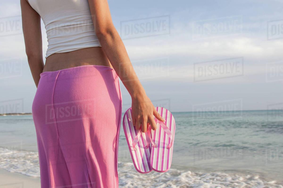 Резултат со слика за photoos of women sea flip flop