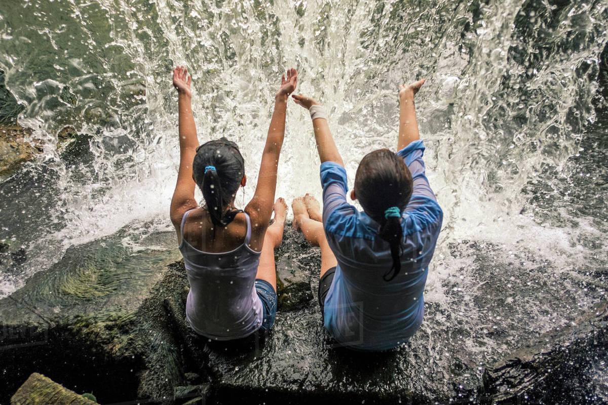 Girls waterfall pics 45