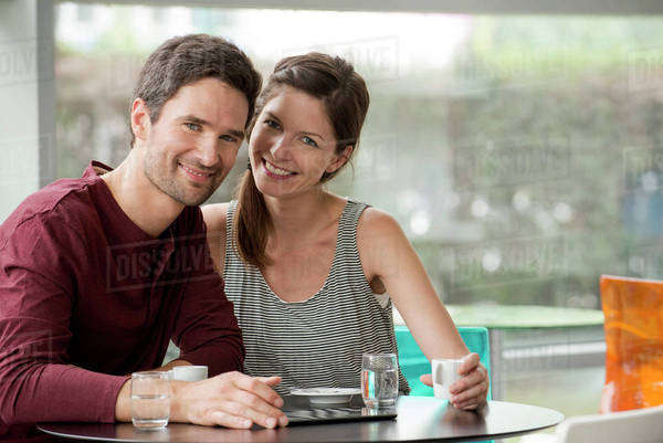 Couple spending quality time together Royalty-free stock photo