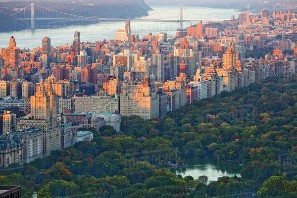 Central Park, Upper West Side, New York City, New York, United States Royalty-free stock photo