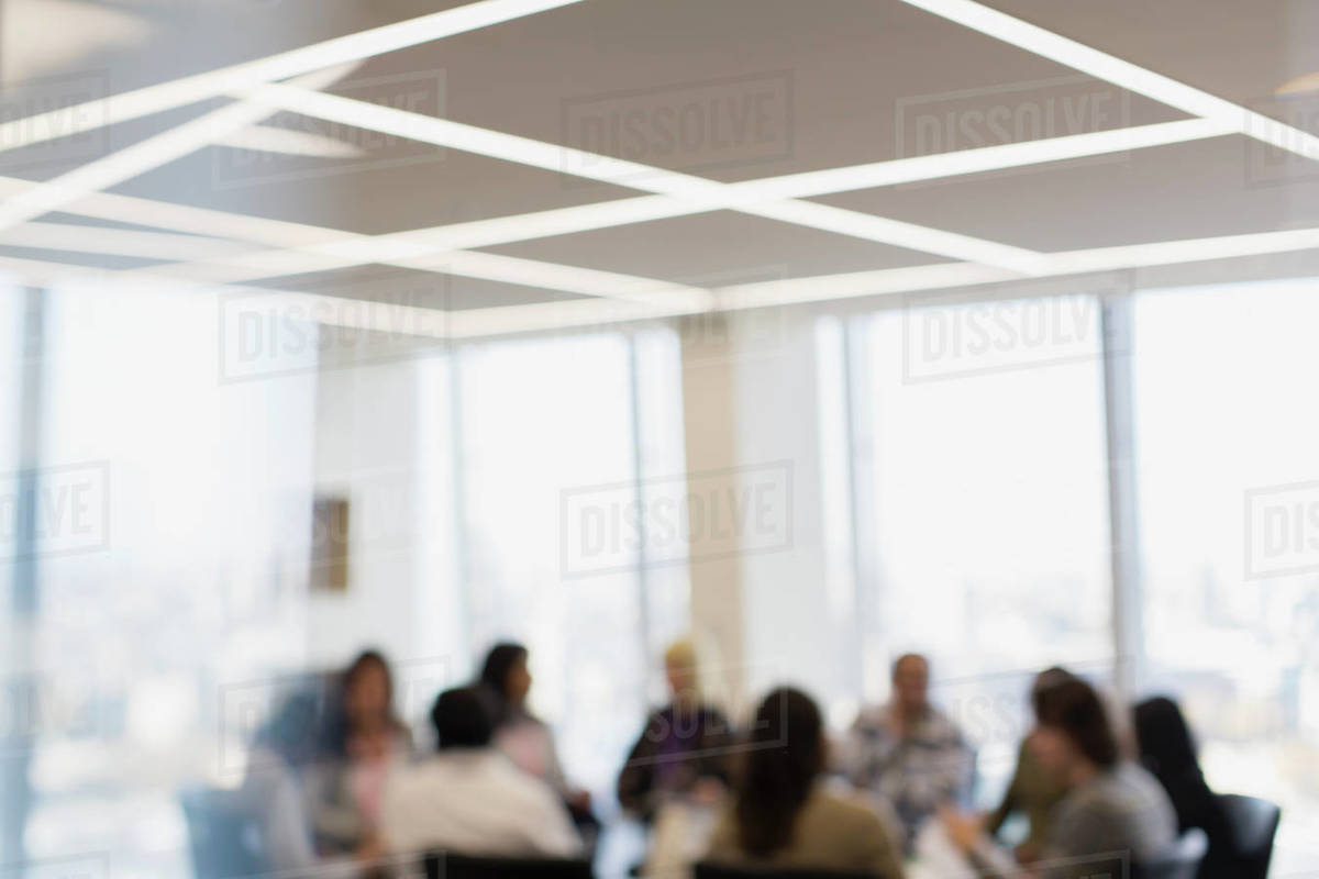 Business people in conference room meeting Royalty-free stock photo