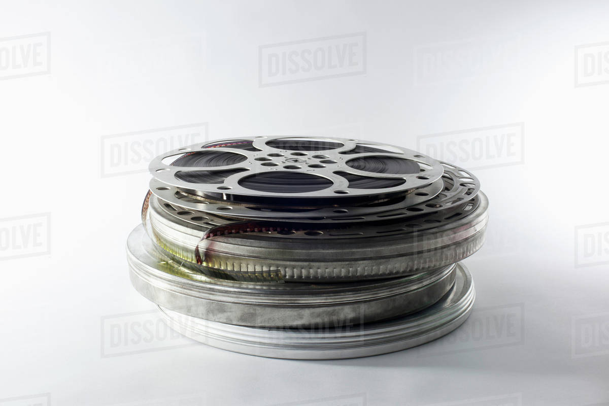 Stack of film reels in canisters stock photo dissolve stack of film reels in canisters altavistaventures Choice Image