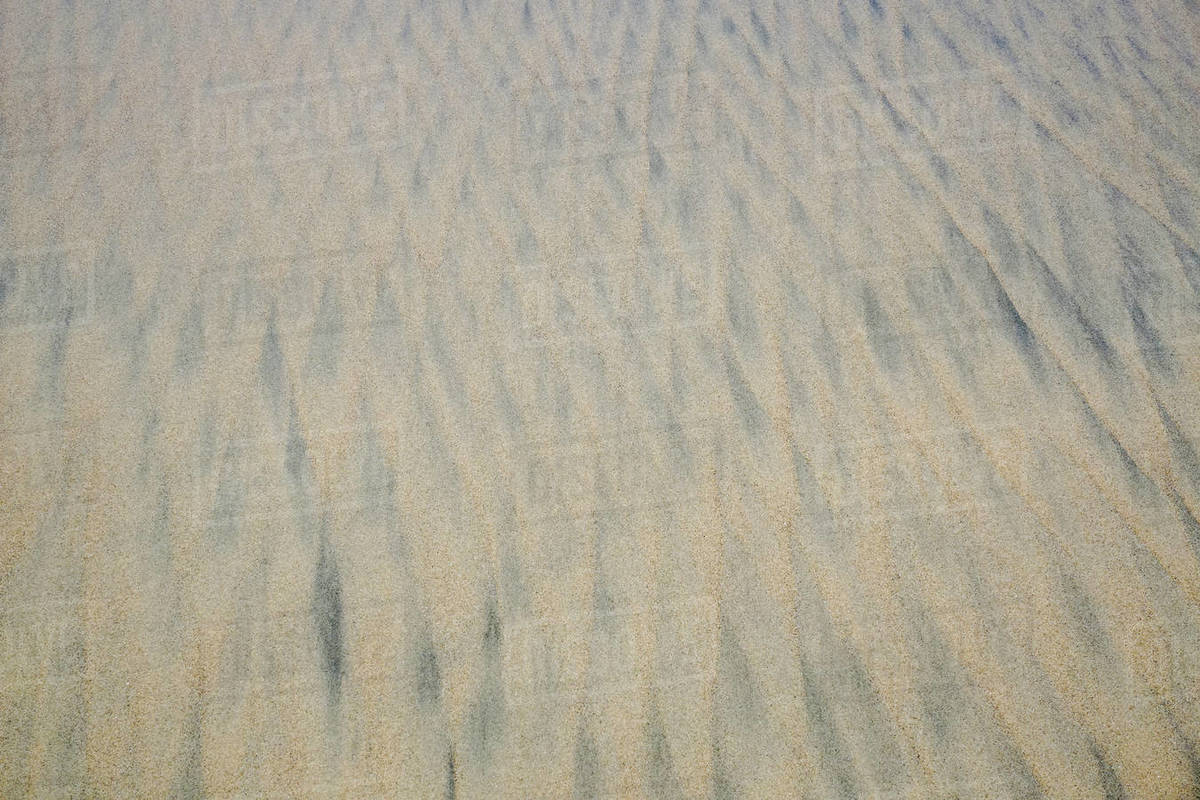 Full frame pattern in beach sand Royalty-free stock photo